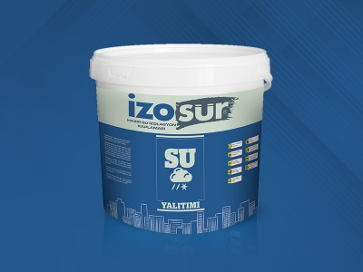 İzosür Ready-To-Use Water Insulation Surfacing